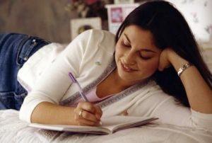 Teen journaling