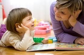 momchild playing
