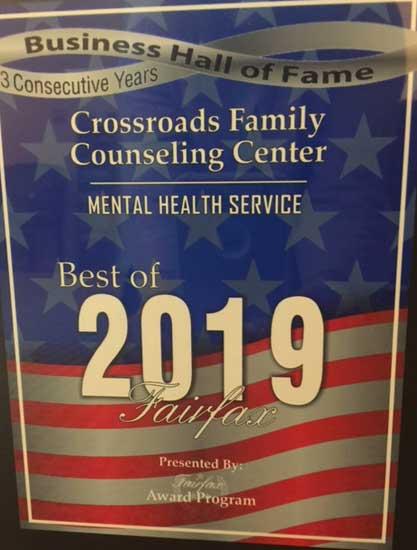 2019 Best of Fairfax Award