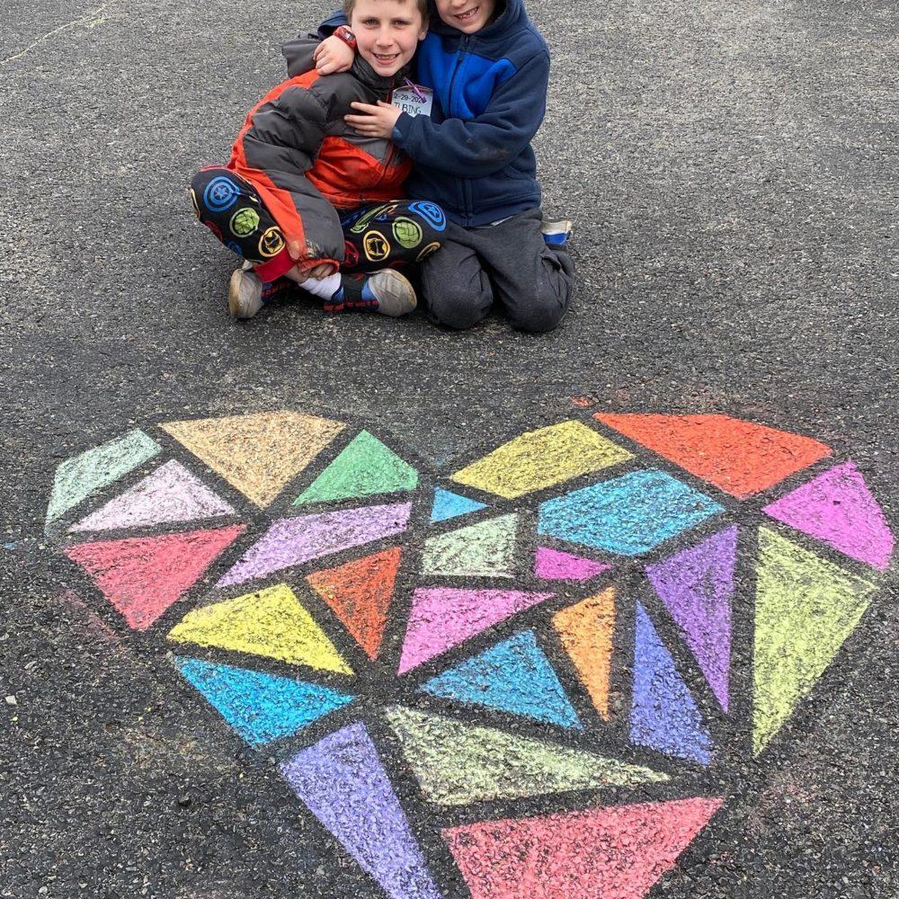 Five, Fun Outdoor, Sidewalk Chalk Activities